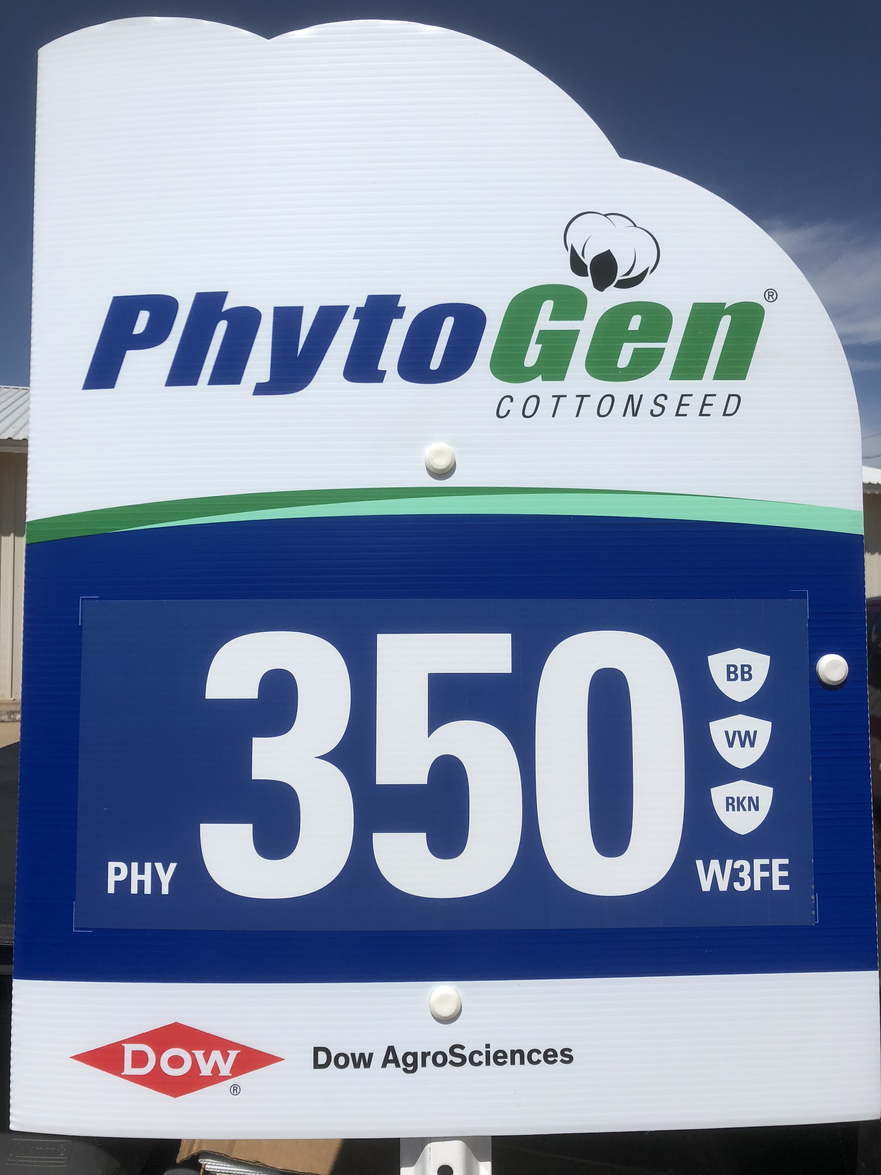 PHY 350 Field Sign